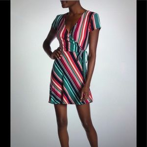 Planet Gold Stripe Dress 💥HOST PICK 💥NWT